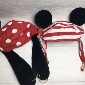 Disney Parks Official Goody and Mickey Pirate Hats